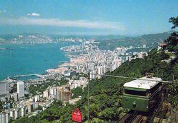 1 AK Hongkong * Hongkong's Peak Tram Severing Peak Residents & Sightseers * - China (Hongkong)