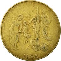 Monnaie, West African States, 10 Francs, 1985, Paris, TB+, Aluminum-Bronze - Ivory Coast