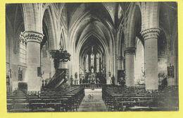 * Anderlecht (Brussel - Bruxelles) * (Nels, Edit Penez Delhaye) Intérieur De L'église, Binnenzicht Kerk, Autel, Rare - Anderlecht