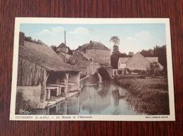 Ouchamps Le Moulin Et L'Abreuvoir. - Francia