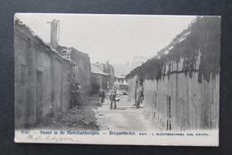 Cpa/pk Niel Straat In De Steenbakkerijen - Niel