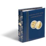 VISTA Album Numismatique Euros Volumes 1 Et 2 Des Anciens Et Des Nouveaux Paysavec étui - Matériel