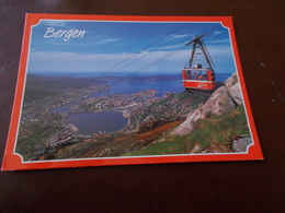 B712   Bergen Norvegia Funivia Coca Cola Non Viaggiata - Norvegia