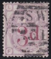 England  .     Yvert   .    74  .   1883     .     O   .    Cancelled .   /    .   Gebruikt - Oblitérés