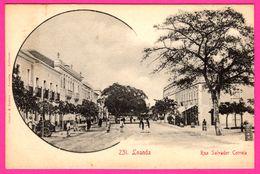 Angola - Loanda - Rue Salvador Correia - Animée - Edit. OSORIO & SEABRA - Angola