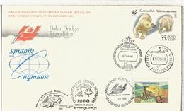 URSS CANADA POLAR BRIDGE EXPLORATION ARTICO NORTH POLE ARCTIC - Expediciones árticas