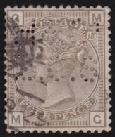 England  .     Yvert   .   64  Perf  .   Crown .   .   1880-83    .     O   .    Cancelled .   /    .   Gebruikt - 1840-1901 (Victoria)