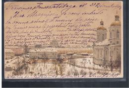 Sankt- Peterburg St Petersbourg Red Cross 1903 OLD POSTCARD 2 Scans - Russia