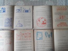 Livre La Recreation N° 16- 20- 21 Et 22 - 18 Cm Par 22.5 Cm - Histoire Des Etoffes - Repas- Feu - La Seine Le Lot De 4 - Sciences