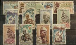 DAHOMEY  N°179-190 N**  Cote 14€ - Benin - Dahomey (1960-...)