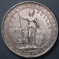 1911 B BRITISH HONG KONG TRADE DOLLAR - Hongkong