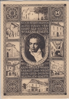 POSTKARTE Ganzsache  Österreichs Beethoven Feier  1927 - Musik