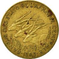 Monnaie, États De L'Afrique Centrale, 5 Francs, 1983, Paris, TB+ - República Centroafricana