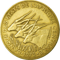 Monnaie, États De L'Afrique Centrale, 10 Francs, 1975, Paris, TTB - Centrafricaine (République)