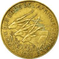 Monnaie, États De L'Afrique Centrale, 10 Francs, 1983, Paris, TB+ - Central African Republic