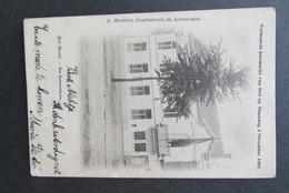 Cpa/pk Niel Het Gemeentehuis Jaarmarkt 1901 - Niel