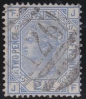 England  .     Yvert   .   57    .   Orb.   .   1875    .     O    .      Cancelled .   /    .   Gebruikt - Gebraucht