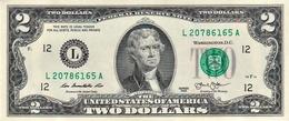 MINT UNITED STATES 2 DOLLARS BANKNOTE 2013 PICK #538 UNC - Billets De La Federal Reserve (1928-...)