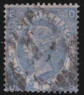 England  .     Yvert   .   38    .   1867-69    .     O    .      Cancelled .   /    .   Gebruikt - Oblitérés