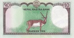 NEPAL P. 77 10 R 2017 UNC (2 Billets) - Nepal