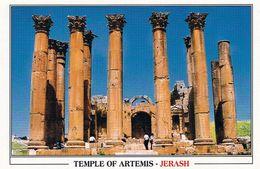 1 AK Jordanien Jordan * Der Artemis Tempel Im Antiken Jerash (auch Gerasa) - Eine Antike Römische Stadt * - Jordanien