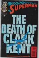 COMICS - SUPERMAN - THE DEATH OF CLARK KENT - Books, Magazines, Comics