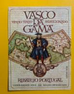 9752 - Vasco Da Gama Ribatejo Portugal - Etiquettes