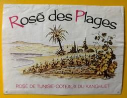 9756 - Rosé Des Plages Côteaux Du Kanghuet Tunisie - Etiquettes