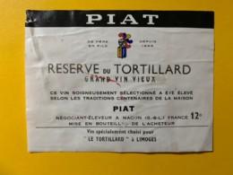9760 - Réserve Du Tortillard à Limoges - Etiquettes