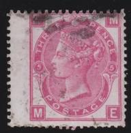 England  .     Yvert   .   33  .   1867-69    .     O    .      Cancelled .   /    .   Gebruikt - Oblitérés