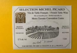 9767 -  Metro Toronto Convention Centre Sélection Michel Picard - Etiquettes