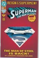 COMICS - SUPERMAN - THE MAN OF STELL - Books, Magazines, Comics