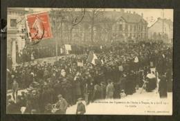 CP-TROYES - Manifestation Des Vignerons De L'Aube à Troyes Le 9 Avril 1911 - Le Défilé - Troyes
