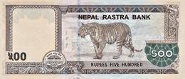 NEPAL P. NEW 500 R 2016 UNC - Népal