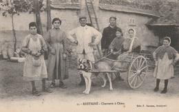 37--RESTIGNE--CHARETTEA CHIEN--TBE--VOIR SCANNER - Autres Communes