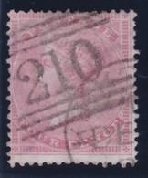 England  .     Yvert   .   18  . Large Garter .   1855/57  .     O    .      Cancelled .   /    .   Gebruikt - Oblitérés