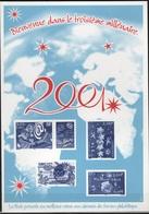 Gravure En Taille-douce Troisième Millénaire 2001 - Documents De La Poste
