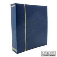 Schaubek Ds1013 Schraubbinder Kunstleder Blau - Groß, Grund Schwarz