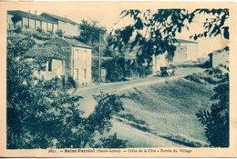 43. Saint Ferreol. Crête De La Côte. Entrée Du Village - France