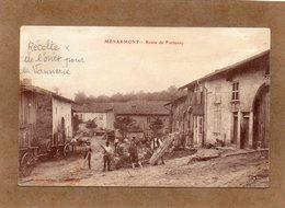 CPA - MENARMONT (88) - Thème : Vannerie - Vanniers Et Osier Route De Fontenoy Au Début Du Siècle - France