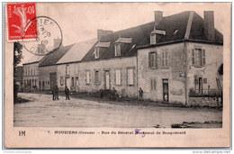 23 NOUZIERS - Rue Du Général Forjemol De Bosquénard - Francia