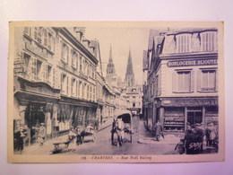 CHARTRES  (Eure-et-Loire)  :  Rue Noël  BALLAY  -  Belle Animation  1937   XXX - Chartres