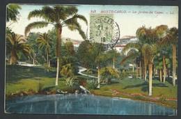 +++ CPA - Monaco - MONTE CARLO - Jardins Du Casino   // - Monte-Carlo
