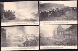 OPRUIMING ! 5 X ANTWERPEN ANVERS - INCENDIE DES BOIS 1907 - ZIE 5 SCANS !!! - Antwerpen