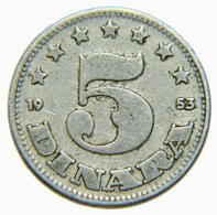 [NC] JUGOSLAVIA - 5 DINARA 1953 (nc3893) - Jugoslavia