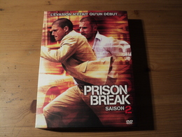 INTEGRALE PRISON BREAK SAISON 2. L EVASION N ETAIT QU UN DEBUT... 2007 6 DVD POUR 22 EPISODES. - Séries Et Programmes TV