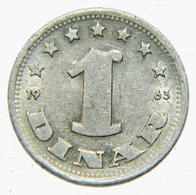 [NC] JUGOSLAVIA - 1 DINAR 1965 (nc3892) - Jugoslavia