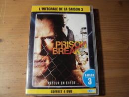 INTEGRALE PRISON BREAK SAISON 3. RETOUR EN ENFER... 2010 4 DVD POUR 13 EPISODES. - Séries Et Programmes TV