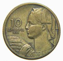 [NC] JUGOSLAVIA - 10 DINARA 1955 (nc3891) - Jugoslavia