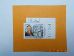 FRANCE 2017 YTN° 5153  BICENTENAIRE CIMENT ARTICIEL Timbre Neuf Oblitéré Cachet Rond Coin De Feuille - Used Stamps